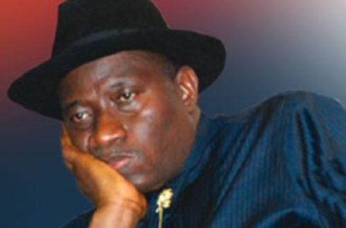 Article : Nigeria: la chance n'a plus souri à Goodluck